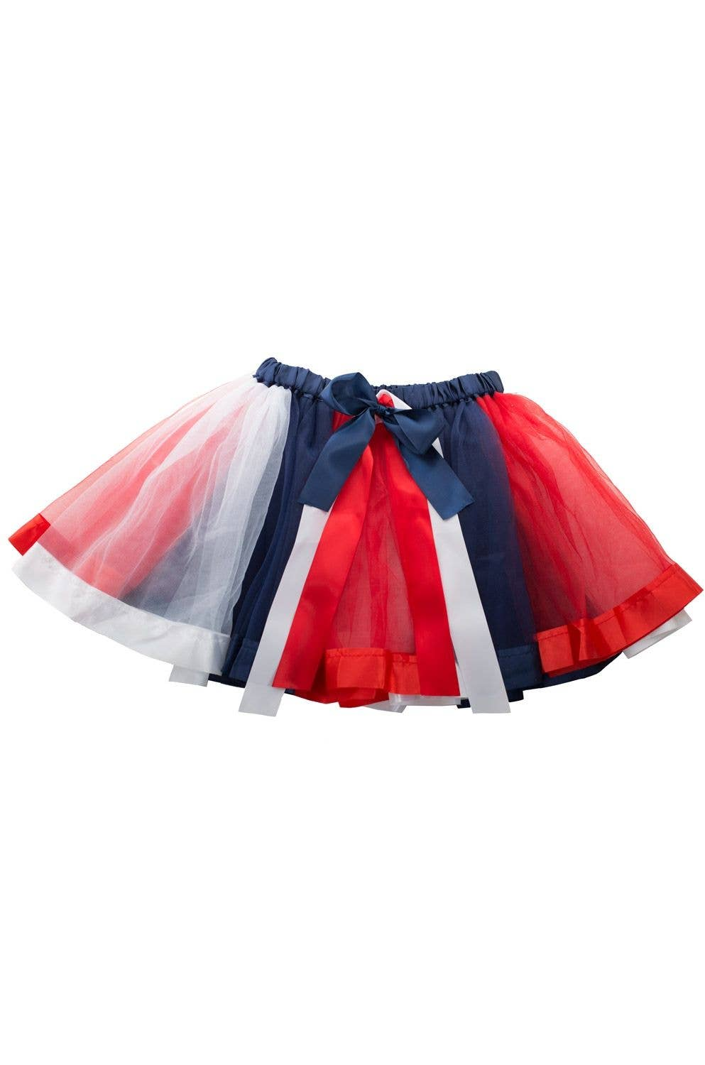 9230825c75 Adult's Australia Day Red, White And Blue Tulle And Satin Trim Petticoat  Tutu