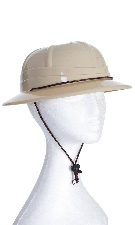 the best attitude 36988 384fe Adjustable Light Brown African Jungle Safari Pith Costume Hat Helmet  Accessory Main Image
