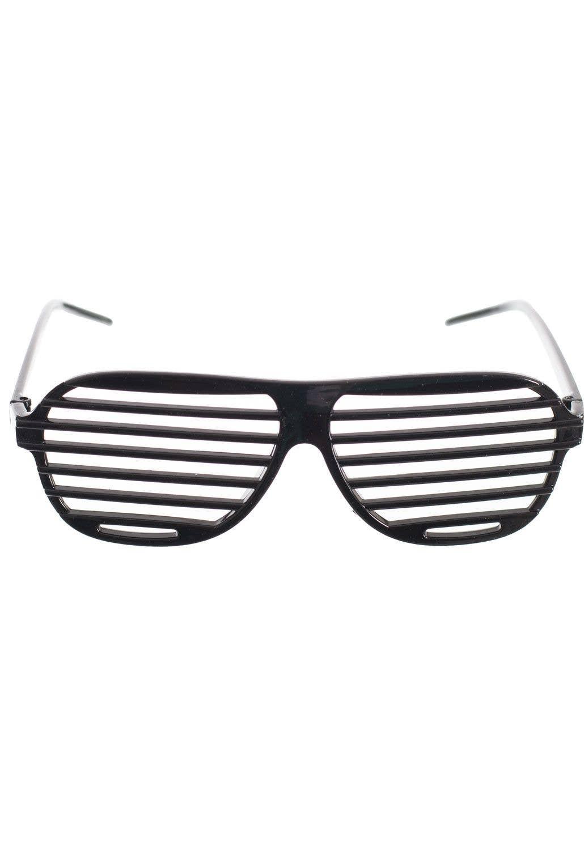 f560172f40 80 s Black Shutter Sunglasses Novelty Accessory Main Image