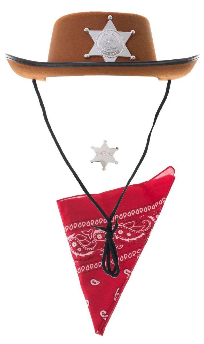 6fef0995d29 Wild West Cowboy Kid s Deputy Sheriff Costume Kit Main Image