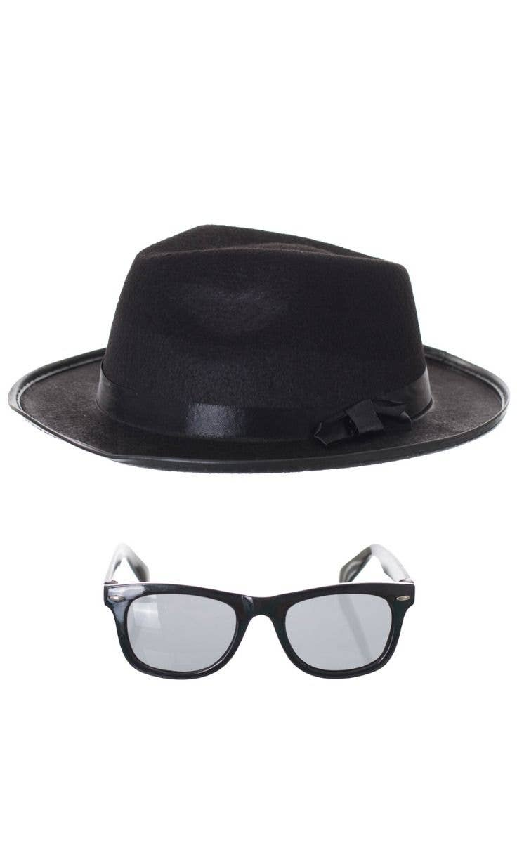 078d7fce43 Blues Brothers Hat and Glasses Costume Accessory Set
