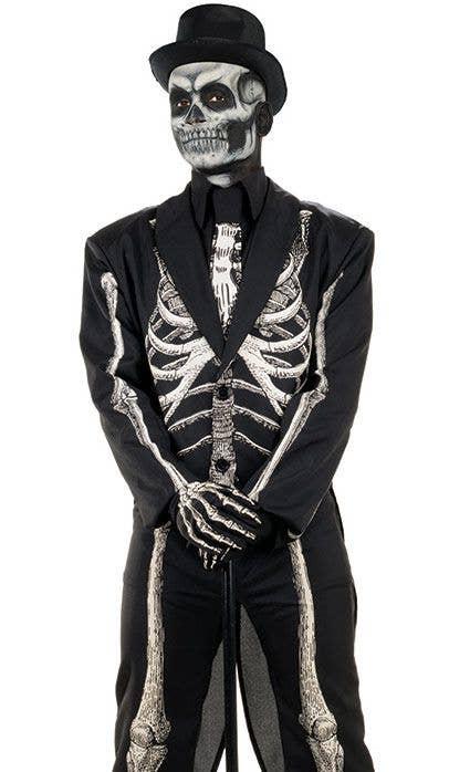 eb82e6b37edc Skeleton Black and White Men's Costume | Skeleton Halloween Costume