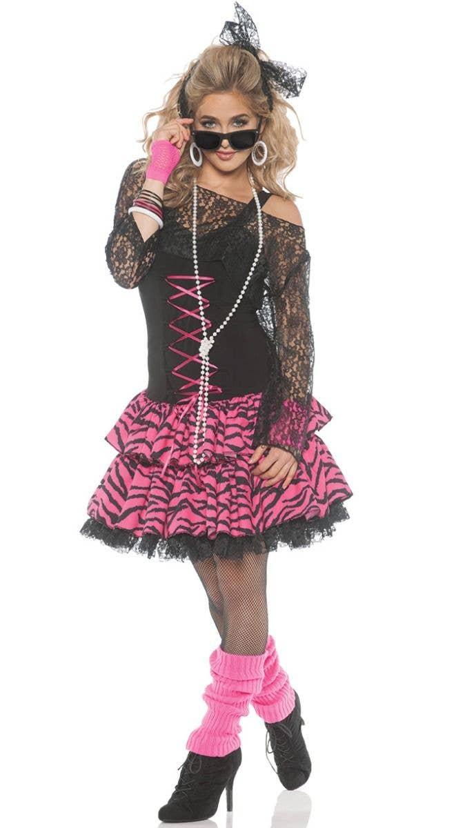 0c7b203839f Flashback Women's Madonna Style Costume | 80's Pop Star Costume