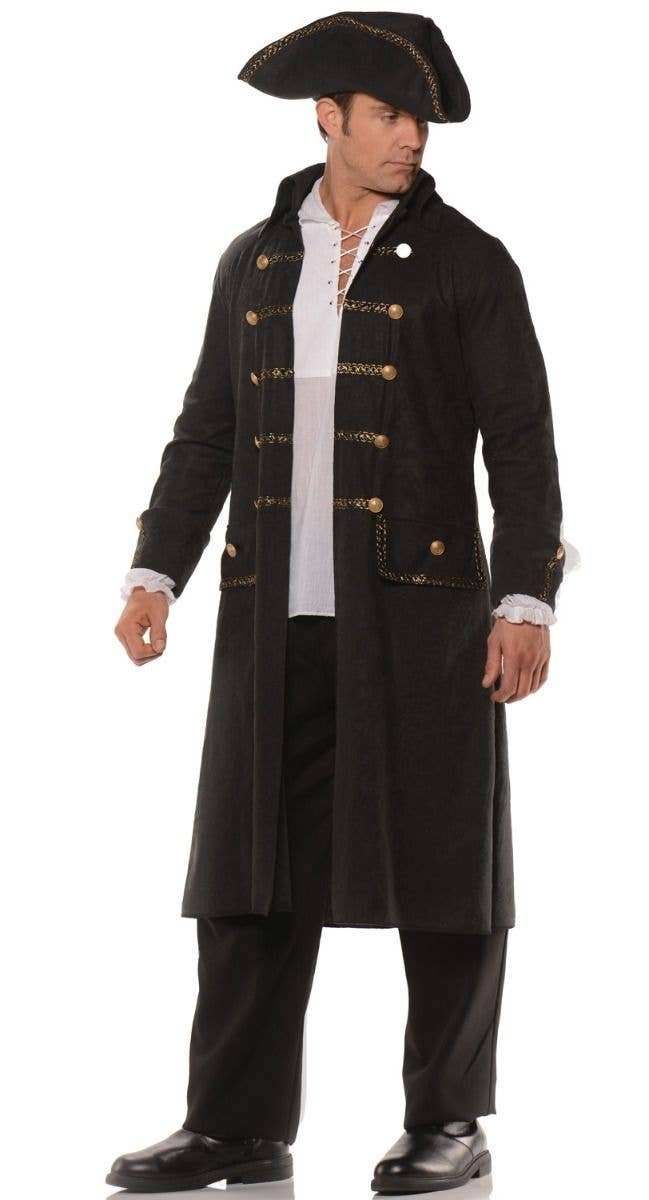 Men S Pirate Captain Costume Set Men S Pirate Coat Fancy Dress Costume