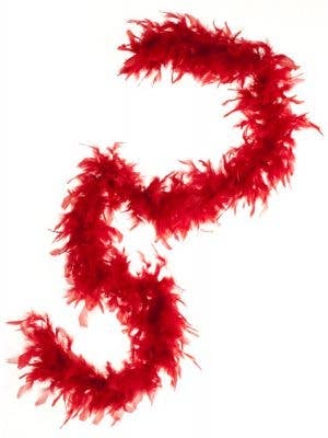 Feather Boa in Red
