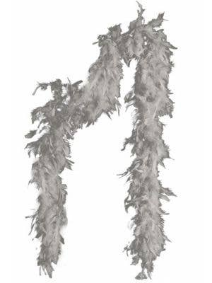 Feather Boa in Silver