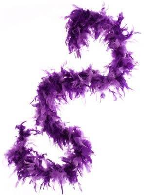 Feather Boa in Purple - Two Tone