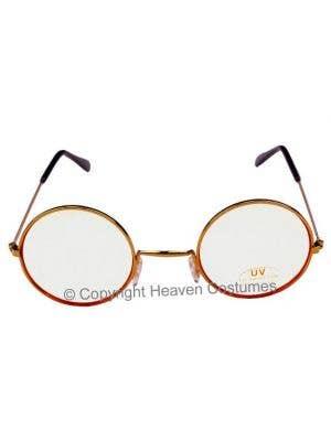 Clear Lens Santa Glasses Costume Accessory