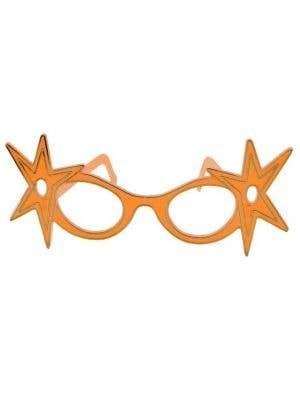 Dame Edna Budget Glasses - Orange