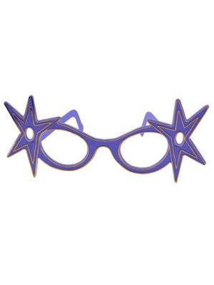 Dame Edna Budget Glasses - Blue
