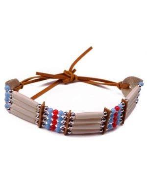 American Indian Beaded Costume Bracelet