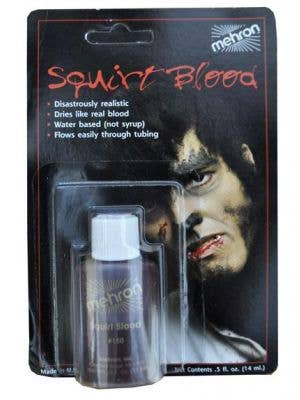 Squirt Blood Dark Red Halloween Effects- 14ml