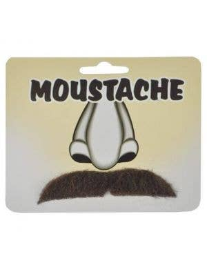 Straight Moustache - Brown