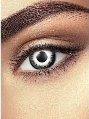 Luna Eclipse One Day Wear White Contact Lenses