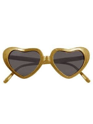 Novelty Heart Shaped Extra Large Costume Sunglasses