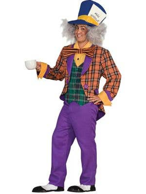 Tea Party Mad Hatter Men's Costume