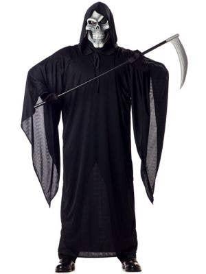 Halloween Grim Reaper Men's Fancy Dress Costume Main
