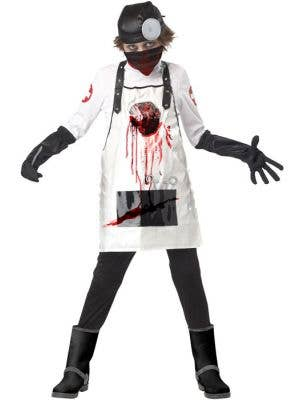 Boy's Killer Surgeon Halloween Doctor Costume Front View