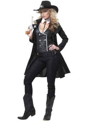 Round 'Em Up Sexy Women's Sheriff Costume
