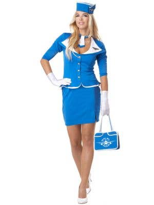 Retro Stewardess Women's Flight Attendant Costume
