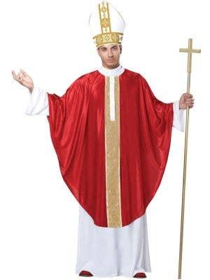 Holy Pope Men's Fancy Dress Costume