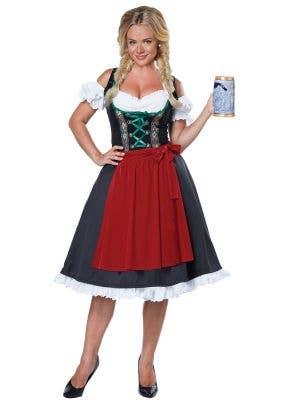 Women's German Beer Girl Oktoberfest Costume Main Image