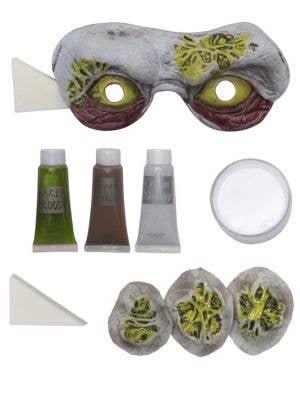 Toxic Zombie Halloween Makeup Kit