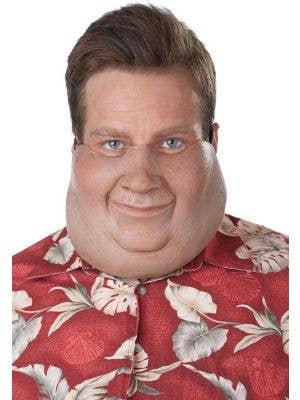 Novelty Fat Man Double Chin Latex Mask