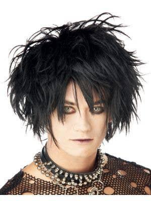 Midnight Fiend Men's Punk Wig