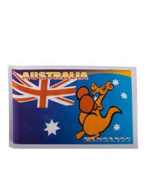 Australian Boxing Kangaroo Car Window Sticker Main Image