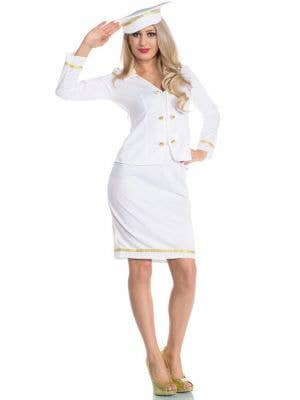 Flight Captain Women's Budget Costume