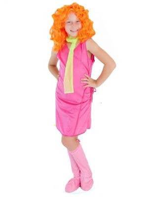 Girls Daphne Fancy Dress Costume Main Image