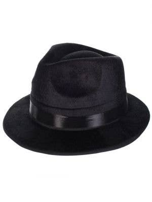 1920's Gangster Hat Black Fedora