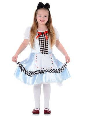 Children's Alice in Wonderland Fancy Dress Main Image