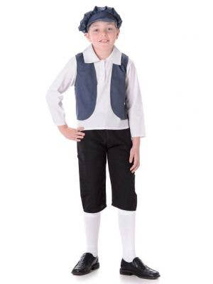 Victorian Peasant Boy's Book Costume Costume Main Image