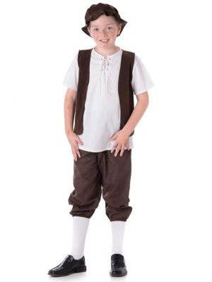 Tudor Boy Kids Oliver Book Week Costume Main Image