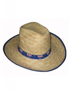 Australia Day Aussie Flag Straw Hat