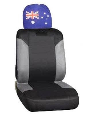 Australian Flag Car Head Rest Cover Aussie Accessory