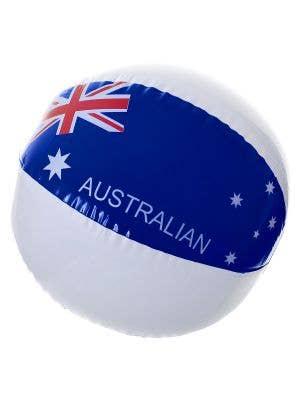 Australia Day Inflatable Beach Ball with Aussie Flag