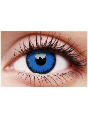 Space Blue 90 Day Wear Coloured Contact Lenses