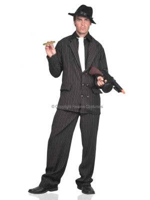 Pinstripe 1920's Men's Gangster Costume