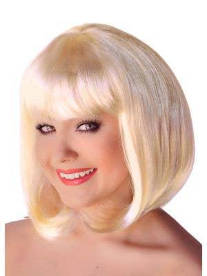 Supermodel Blonde Bob Costume Wig