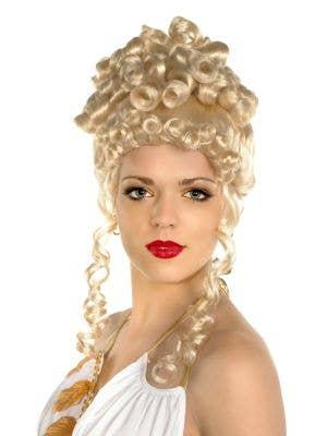 Golden Blonde Roman Empress Costume Wig
