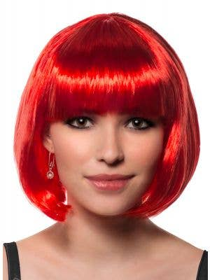 Eden Women-s Red Bob Costume Party Wig Front