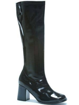 Go Go Women's 1960's Long Black Costume Boots