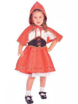 Red Riding Hood Girl's Costume Front View