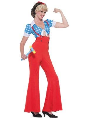 Rosie The Riveter Women's 1940's Costume