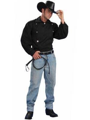 Tex Men's Wild West Costume Shirt