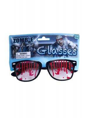 Bloody Zombie Glasses Halloween Accessory