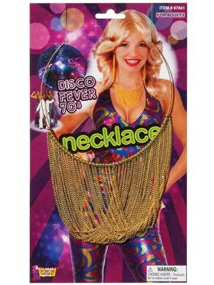 Disco Fever 70's Costume Necklace